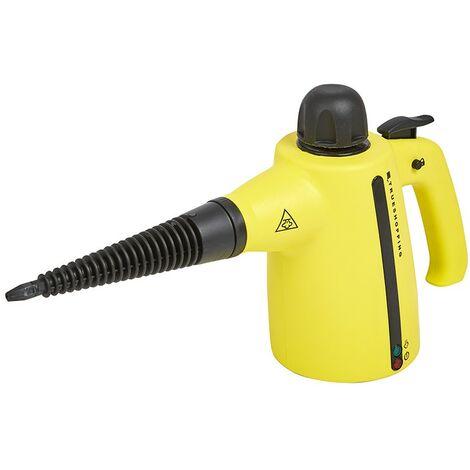 Portable Handheld Steam Steamer Cleaner Mop - Kitchen Bathrooms Hard Floor