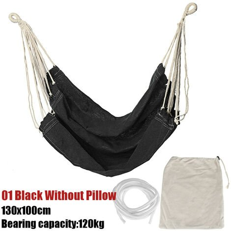 Portable Hanging Hammock Chair Swing Thicken Porch Seat