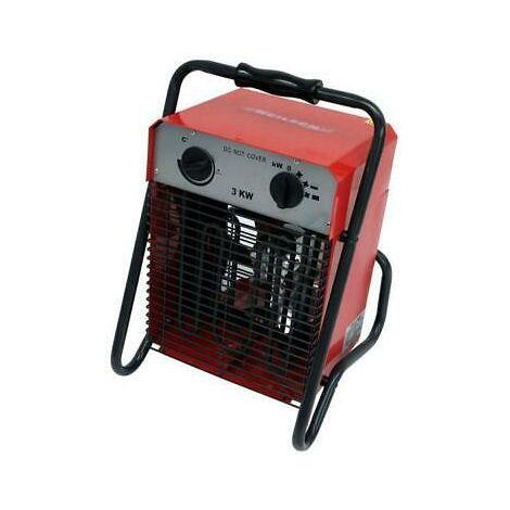 Portable Industrial Fan Heater Electric 3KW 3 Settings