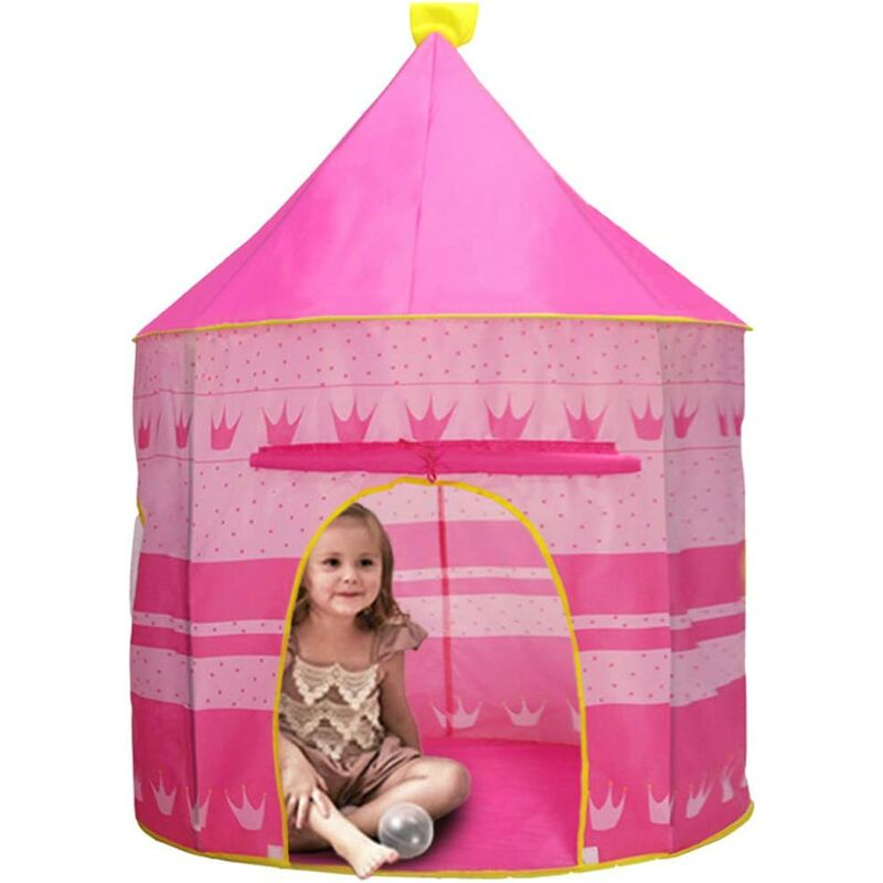 Portable Kids Tent, Foldable Child Play Tent, Bedroom Tent Toy, Kids Pop-Up Tent, Baby Tent House, Game Castle Tent, Play Tent House, Boys Girls Tent