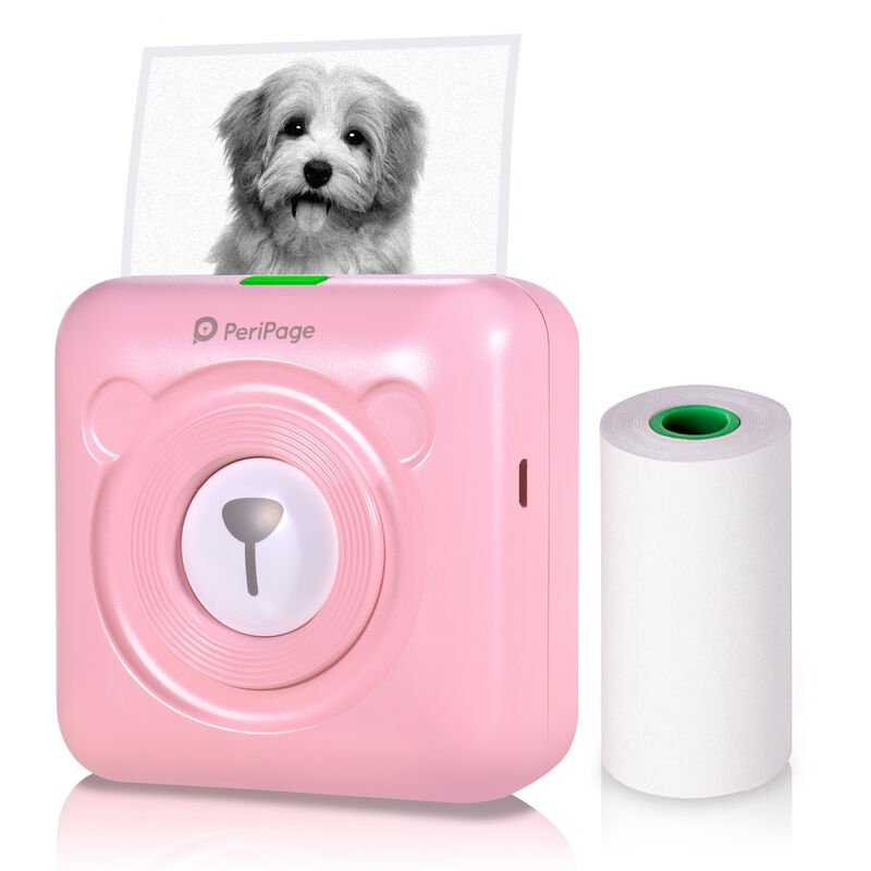 Image of Portable Mini Bluetooth Thermal Printer