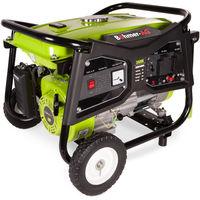 Portable Petrol Generator 3800E 3000w Electric Key Start Camping Power - Bohmer