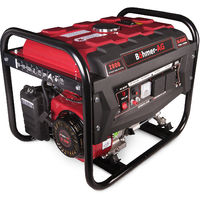 Portable Petrol Generator 6500w Bohmer Electric - 8HP 3.4KVA Quiet Camping Power