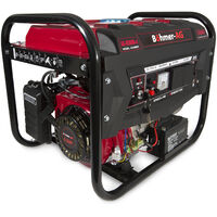 Portable Petrol Generator 6500W-E ~ 3.4 KVA 8HP ~ Quiet Power Electric Key Start
