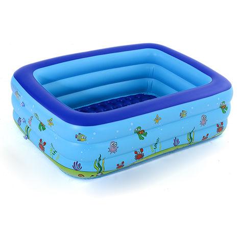 Portable Piscine Gonflable Bebe Piscine Exterieure Enfants Bassin Pour Enfants Baignoire
