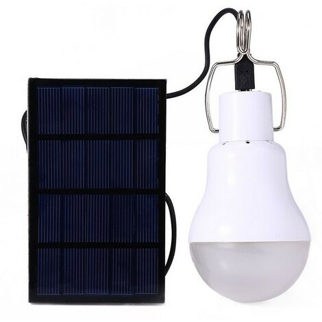 Portable Solar Bulb 150LM1600MA LED Solar Lamp Camping Lamp for Pet Emergency Patio Garden Lamp Familiar
