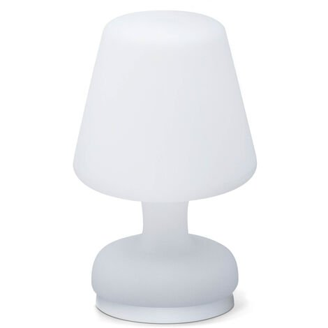 Portable table LED lamp 26cm, water resistant lamp, wireless charging, indoor and outdoor lamp