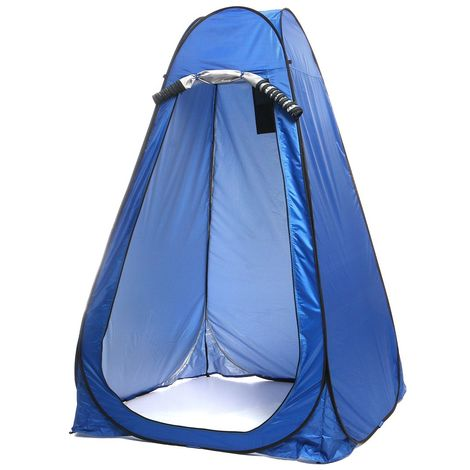 Portable Tente Camping Po p Up Automatique Extérieur Cabine de Douche 120x120x190cm