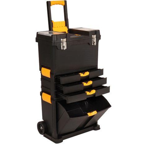Toolpack Portable Tool Carrying Bag Tote Storage Organiser Brisk Black 360.114
