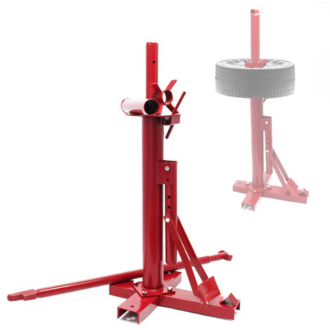 "Portable Tyre Changer with Bead Breaker for Manually Mounting and Demounting 8"" - 16"" Tyres"