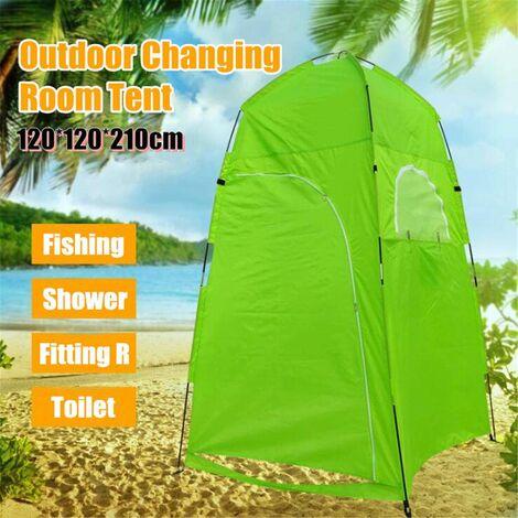 Portable Up Tente à langer Toilette Douche Camping Room Camp Sac de douche extérieur (vert, tente de douche)
