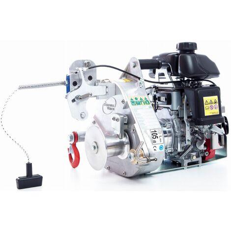 Portable Winch - Treuil de tirage et levage à essence force tire max. 775 kg capacité lev. 250 kg - PCH1000