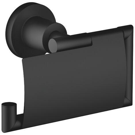 Portabobinas de papel de Dornbracht Tara 83510892,, color: Negro Mate - 83510892-33