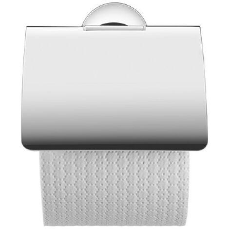 Portabobinas de papel Duravit Starck T con tapa 009940, color: cromado - 0099401000