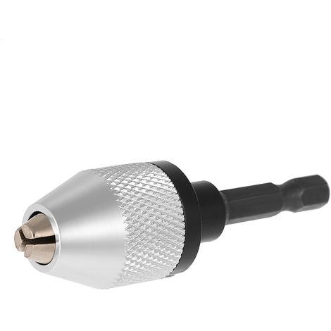 """Portabrocas de amoladora electrica, con convertidor de broca de vastago hexagonal de 1/4 """"de 6,35mm"""