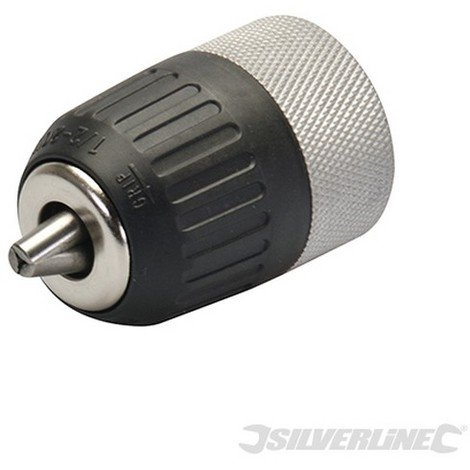 Portabrocas metálico sin llave (Rosca 13 mm - 1/2'' 20UNF)