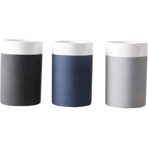 Portacepillos Silicona - 3 Colores Surtidos