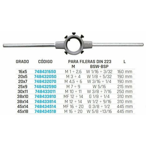 Portafileras DIN225 Acero 748431650