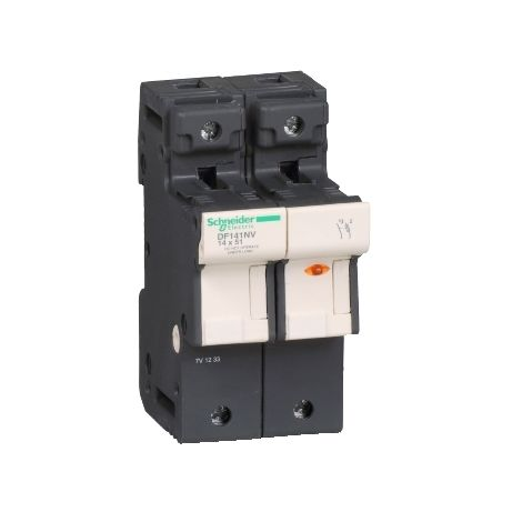 PORTAFUSI 1P/N 50A 14 X 51 SCHNEIDER ELECTRIC DF141NV