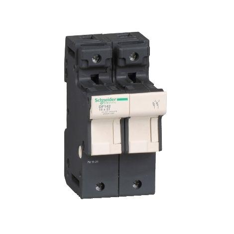 PORTAFUSI 2P 50A 14 X 51 MM SCHNEIDER ELECTRIC DF142