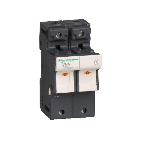 PORTAFUSI 2P 50A 14 X 51 MM SCHNEIDER ELECTRIC DF142V