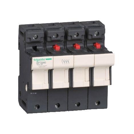 PORTAFUSI 3P/N 50A 14 X 51 SCHNEIDER ELECTRIC DF143NC