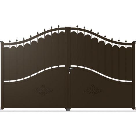 Portail Aluminium Battant Tradition TR01A