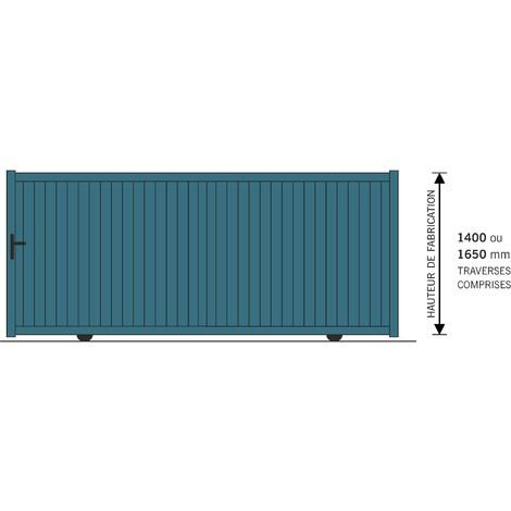 Portail Aluminium Coulissant 3Mx1.6M