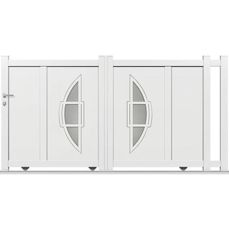 Portail Aluminium Coulissant DS04