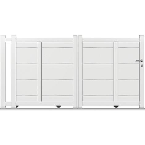 Portail Aluminium Coulissant DS05