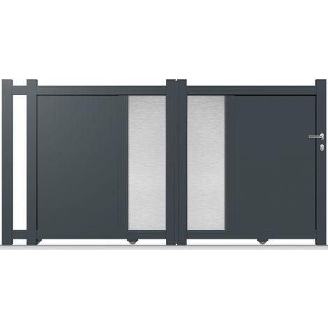 Portail Aluminium Coulissant DS12