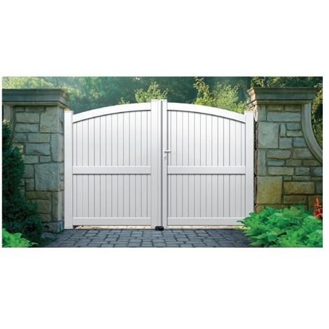 Portail Aluminium Escalet - Coulissant