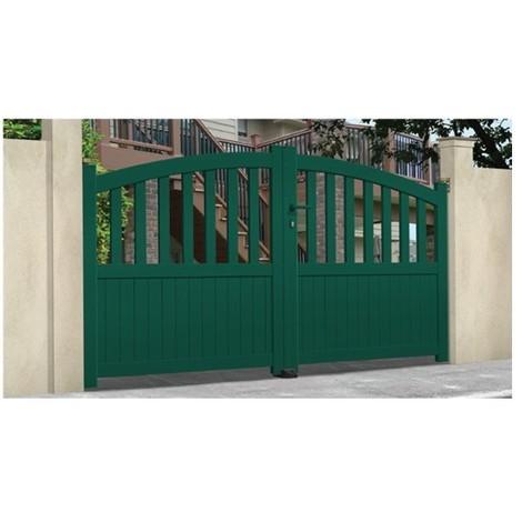 Portail Aluminium Fontanette - Coulissant