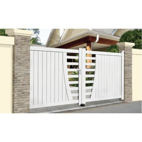 Portail Aluminium Frejus