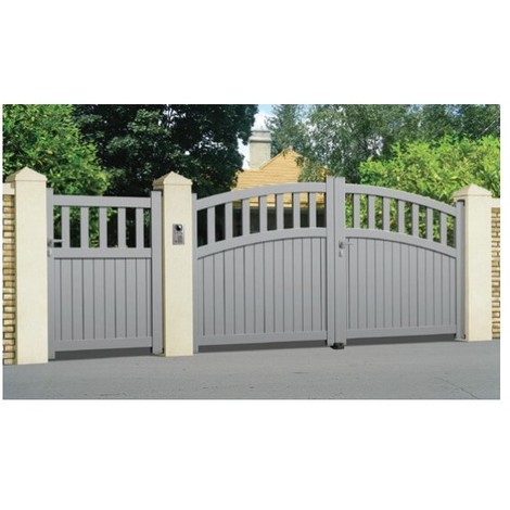 Portail Aluminium Gassin - Coulissant