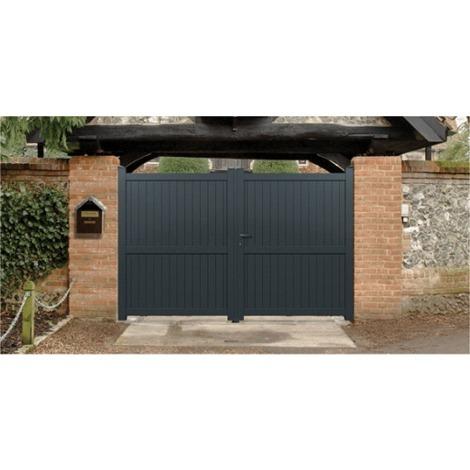 Portail Aluminium Menton - Coulissant