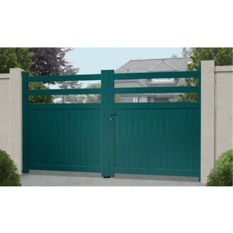 Portail Aluminium Pampelonne - Coulissant