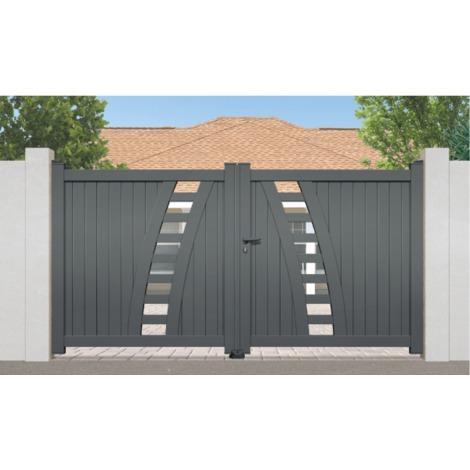 Portail Aluminium Rayol - Coulissant
