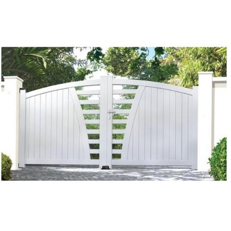 Portail Aluminium Rebijoie - Coulissant