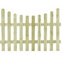 Portail de jardin Pin imprégné FSC 170 x 120 cm