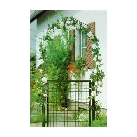 Portal de jardín .verde 100 X 80 cm