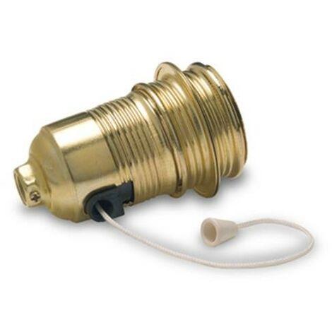 portalampara metalica interruptor e-27 305. 1bl