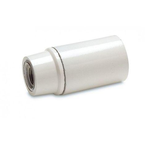 PORTALAMPARA PLASTICO E14 BLANCO