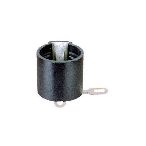 Portalámparas a rosca E-10 Color negro Electro DH 12.000/N 8430552019595