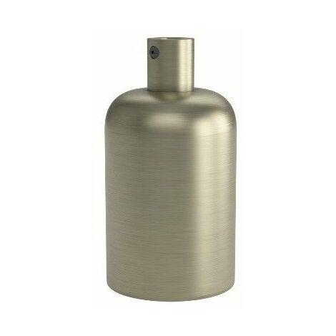 Portalamparas aluminio decorativo CALEX 940404 E-27 40mm aluminio