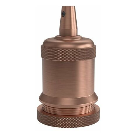 Portalamparas aluminio M-003 decorativo CALEX 940462 E-27 cobre mate