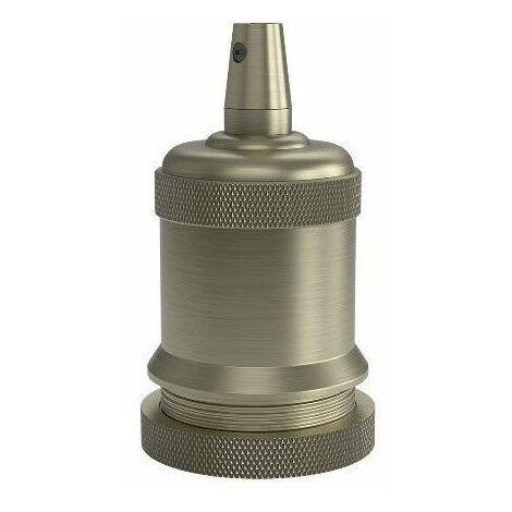Portalamparas aluminio M-003 decorativo CALEX 940466 E-27 aluminio