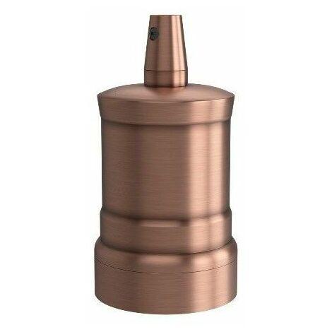 Portalamparas aluminio M-035 Pico decorativo CALEX 940442 E-27 cobre mate