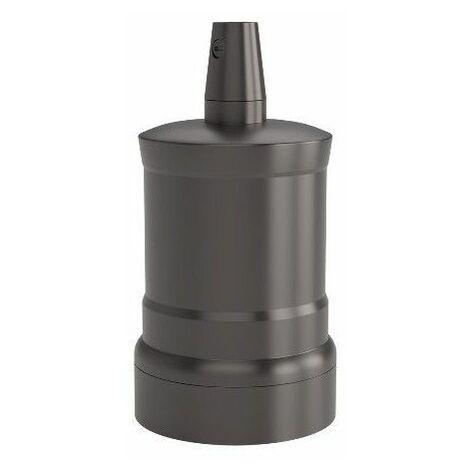 Portalamparas aluminio M-035 Pico decorativo CALEX 940446 E-27 negro perla