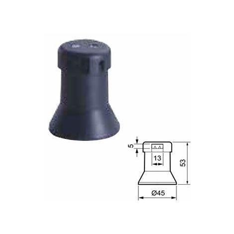 Portalámparas de feria negro E27 45x53mm 4A Solera 6109A